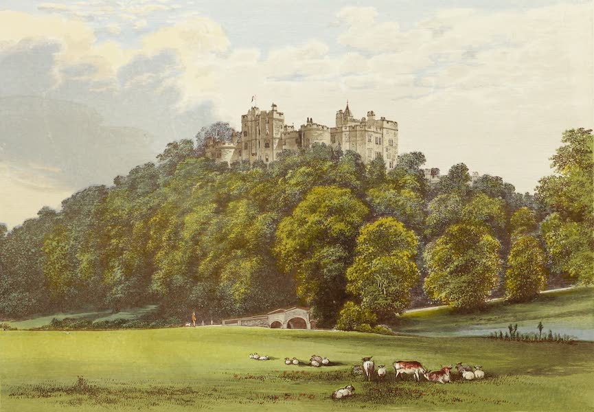 County Seats of Great Britain and Ireland Vol. 6 - Dunster Castle (1880)