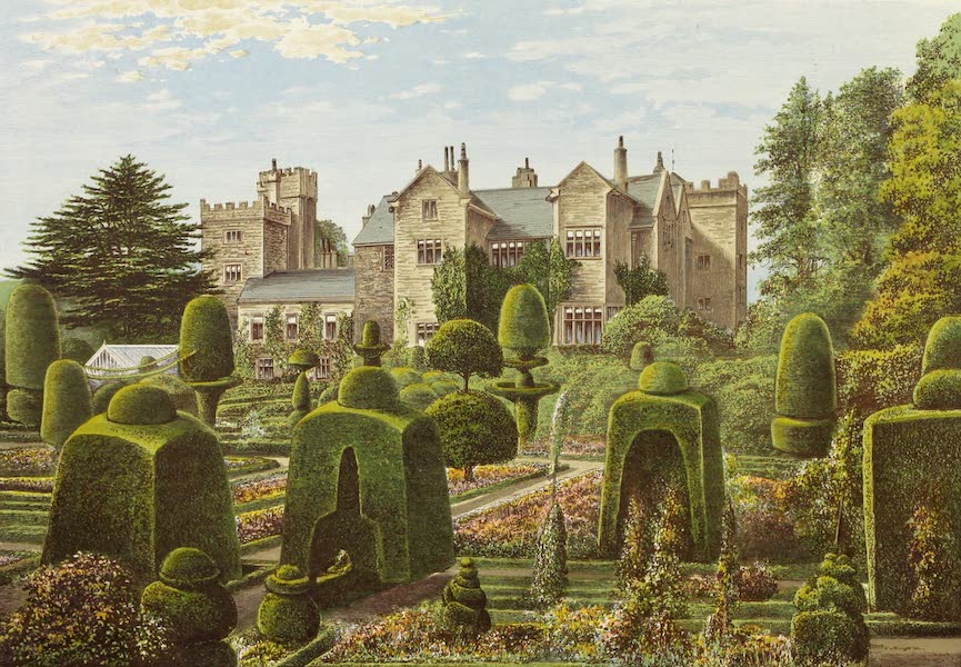 County Seats of Great Britain and Ireland Vol. 6 - Leven's Hall (1880)