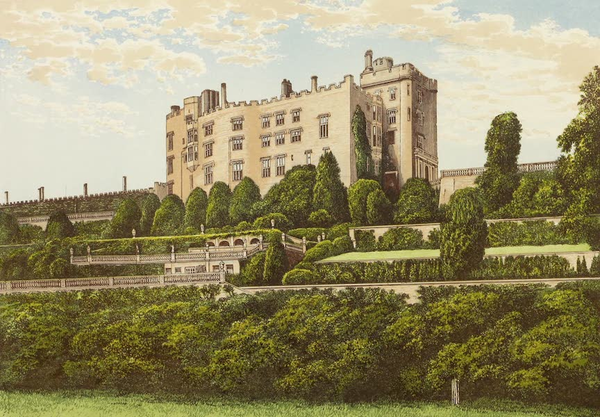 County Seats of Great Britain and Ireland Vol. 6 - Powis Castle (1880)