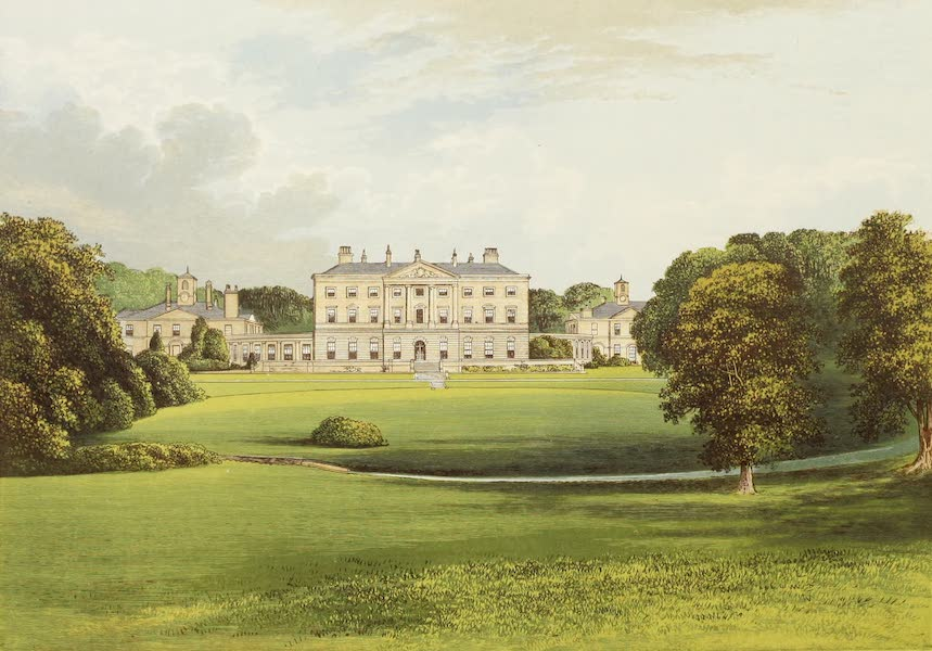 County Seats of Great Britain and Ireland Vol. 6 - Howick Hall (1880)