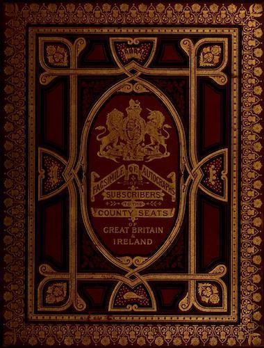 County Seats of Great Britain and Ireland Vol. 7 - Front Cover (1880)