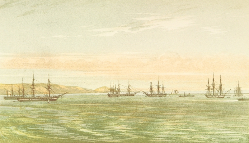 Cruise Round the World of the Flying Squadron - Flying Squadron, Plymouth Sound, June 1869 (1871)