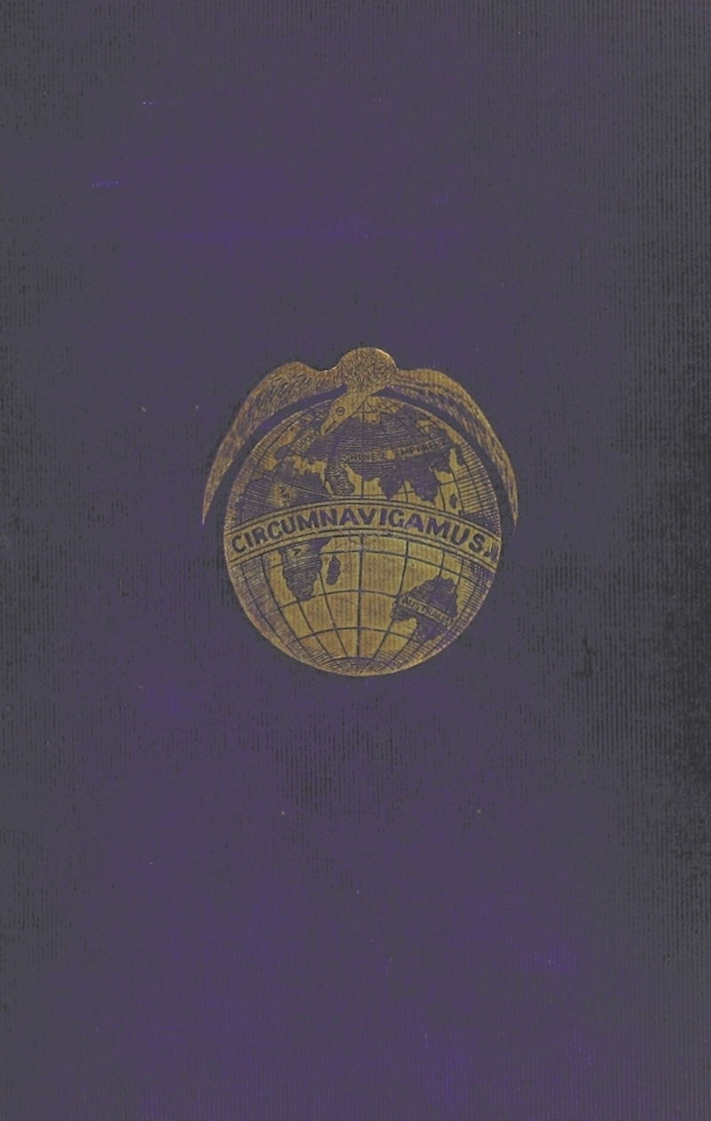 Cruise Round the World of the Flying Squadron - Book Cover (1871)