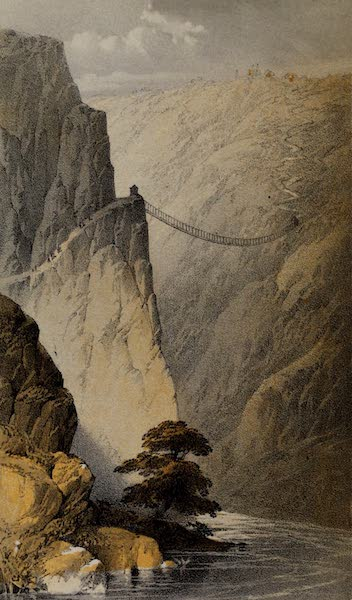 Cuzco: a Journey to the Ancient Capital of Peru - Bridge over the Apurimao (1856)