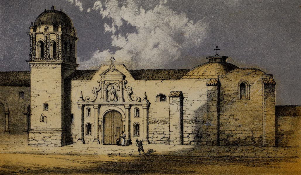 Cuzco: a Journey to the Ancient Capital of Peru - Church of Santo Domingo, Cuzco from the Yntip Pampa (1856)