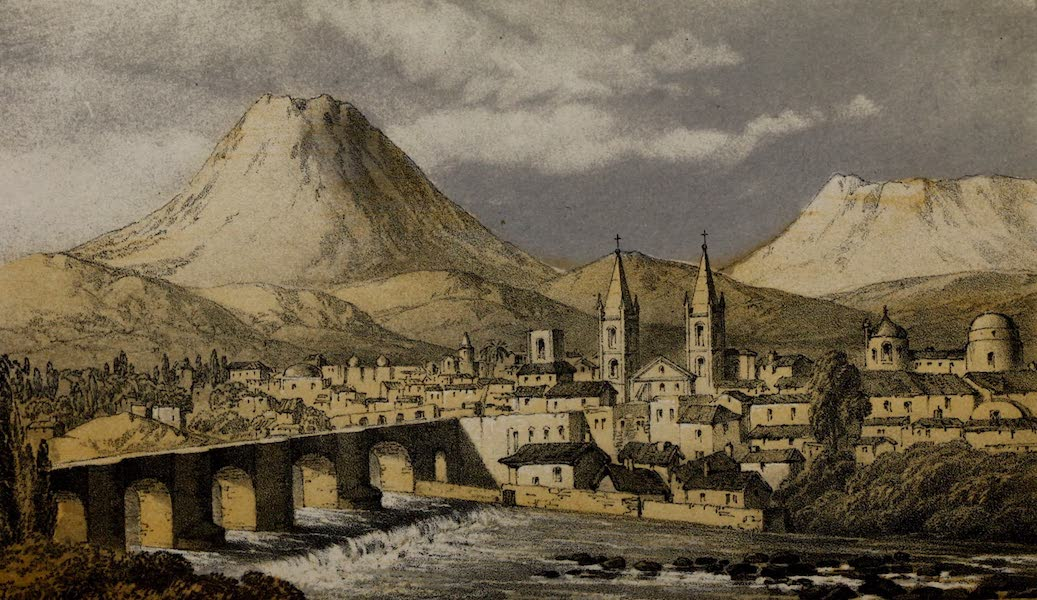 Cuzco: a Journey to the Ancient Capital of Peru - Arequipa from the Alameda (1856)