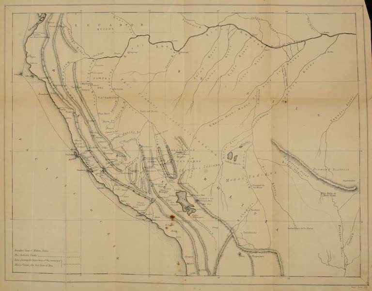 Cuzco: a Journey to the Ancient Capital of Peru - A Map of Peru (1856)