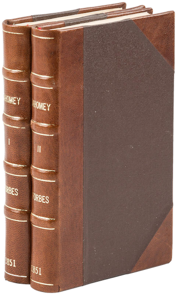 Dahomey and the Dahomans - Book Display (1851)