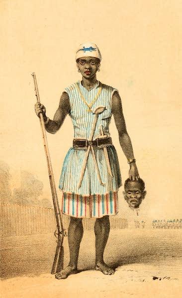 Dahomey and the Dahomans - Seh-Dong-Hong-Beh, an Amazon in the Dahoman Army (1851)