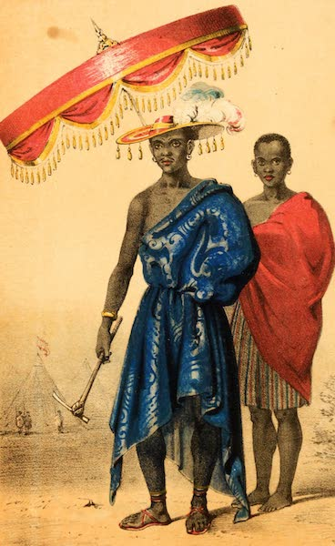 Dahomey and the Dahomans - Gezo, King of Dahomey (1851)