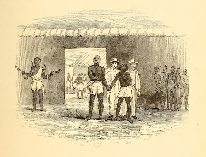 Dahomey and the Dahomans - The Fetish Man and the Governor of Whydah (1851)