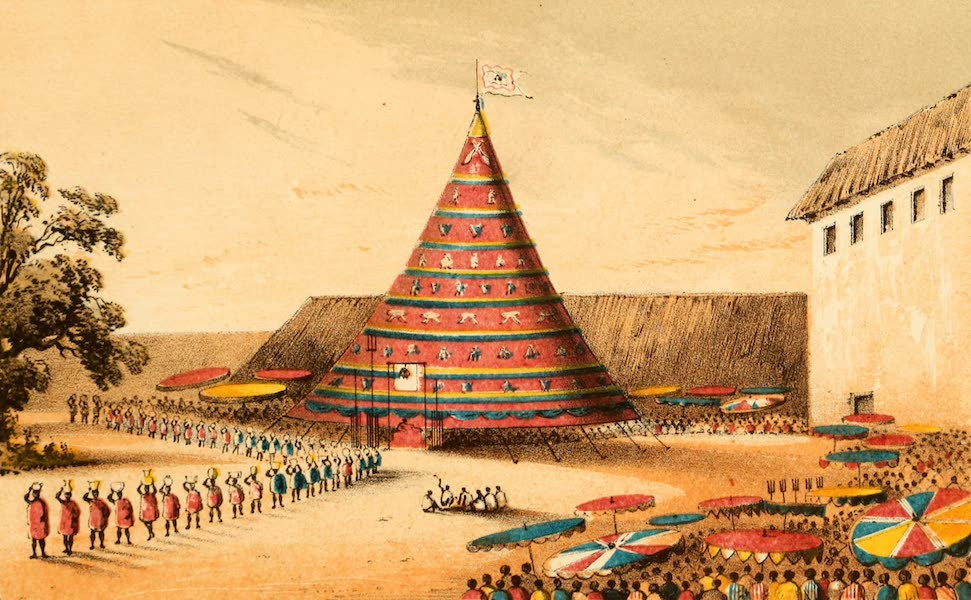 Dahomey and the Dahomans - Ek-Bah-Tong-Ek-Beh or the Procession of the King's Wealth (1851)