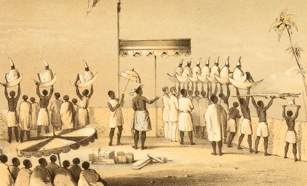 Dahomey and the Dahomans - The Platform of the Ah-Toh (1851)