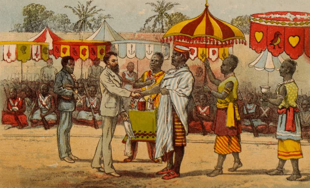 Dahomey As It Is - The Reception at Kana (1874)