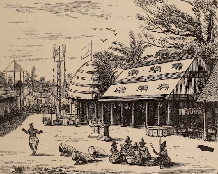 Dahomey As It Is - The So-Sin Pavilions (1874)