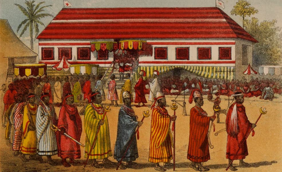 Dahomey As It Is - Procession of Ministers (1874)