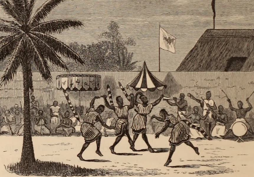 Dahomey As It Is - The Tail Dancers (1874)