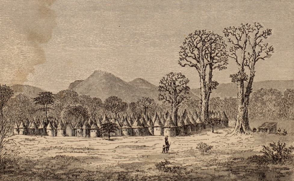 Dahomey As It Is - A Mahi Village (1874)