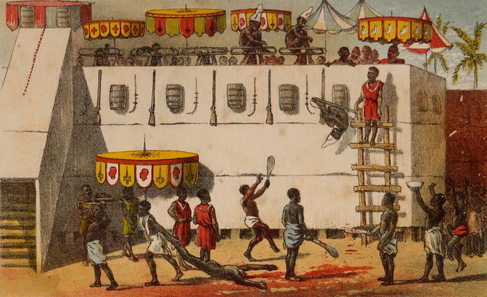 Dahomey As It Is - Victims for the Attoh Custom (1874)
