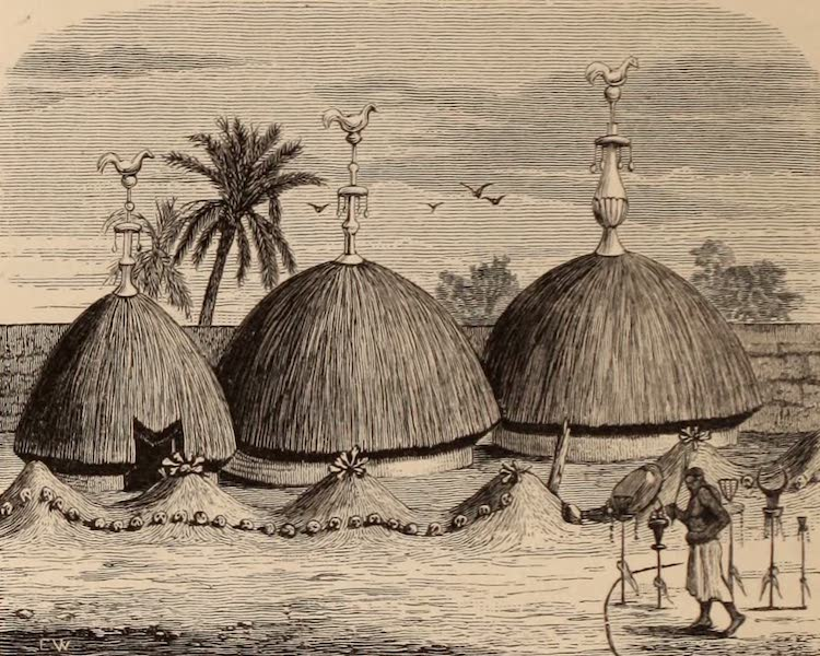Dahomey As It Is - Tombs of Daho-Aho and Akabah (1874)