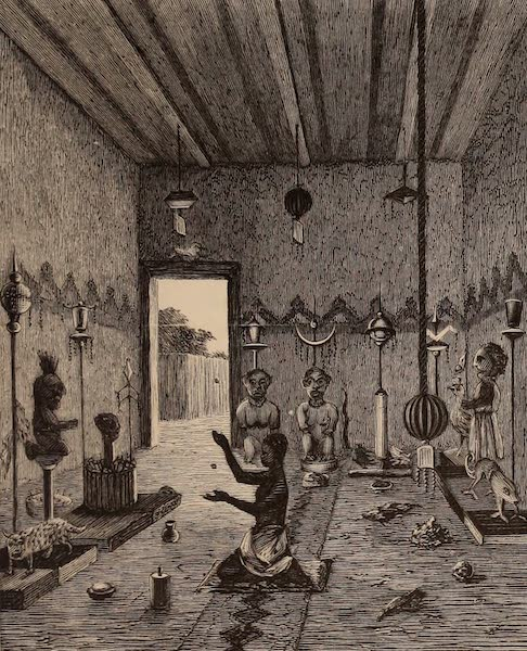 Dahomey As It Is - Prince Hahansus' Fetiche House (1874)