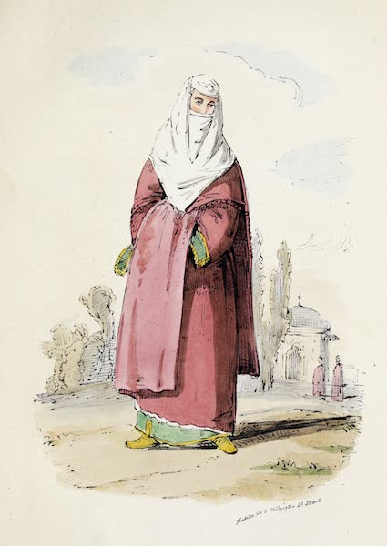 Damascus and Palmyra Vol. 1 - Turkish Lady (1838)
