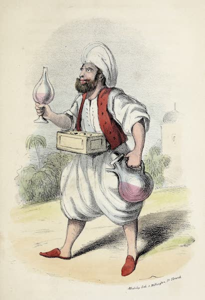 Damascus and Palmyra Vol. 2 - Sherbet Seller (1838)