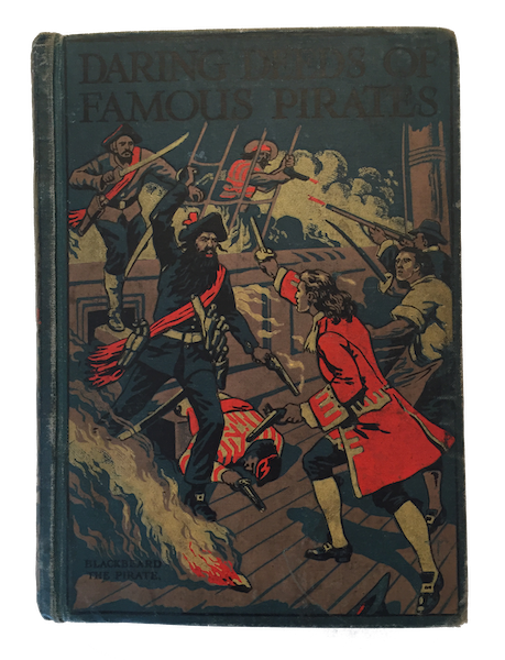 Daring Deeds of Famous Pirates - Front Cover (1917)