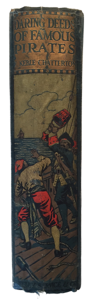 Daring Deeds of Famous Pirates - Spine (1917)