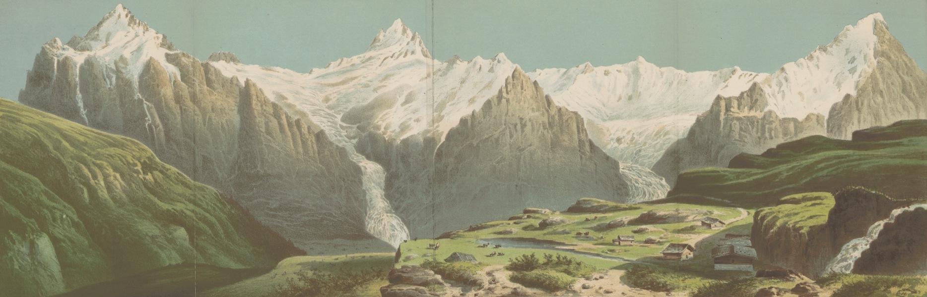 Das Hochgebirge von Grindelwald - Das Hochgebirge von Grindelwald (1865)
