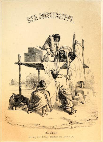 Das Illustrirte Mississippithal - Illustrated Title Page (1857)