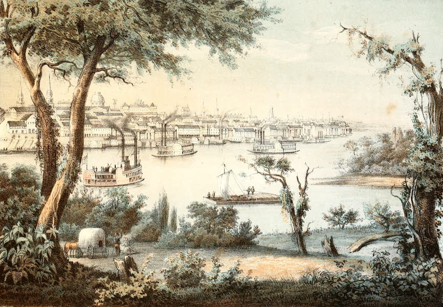 Das Illustrirte Mississippithal - St. Louis (1857)