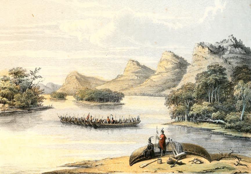 Das Illustrirte Mississippithal - indian Deputation (1857)