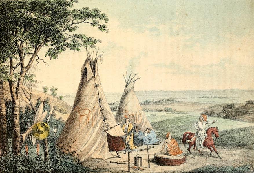 Das Illustrirte Mississippithal - The Rolling Prairie (1857)