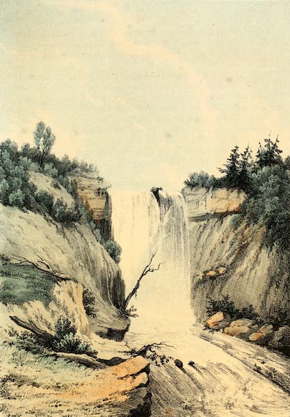 Das Illustrirte Mississippithal - The Little Falls (1857)