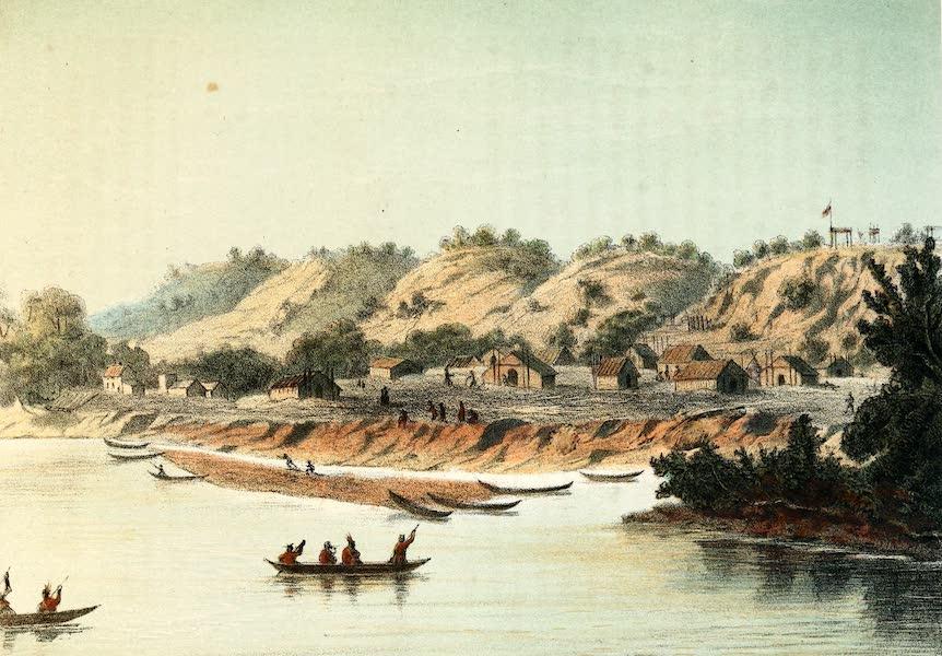 Das Illustrirte Mississippithal - Klein Rabendorf (1857)