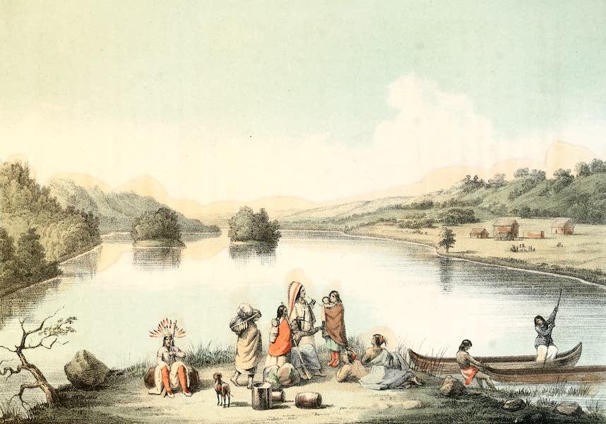 Das Illustrirte Mississippithal - Rothe Felsen Prairie (1857)