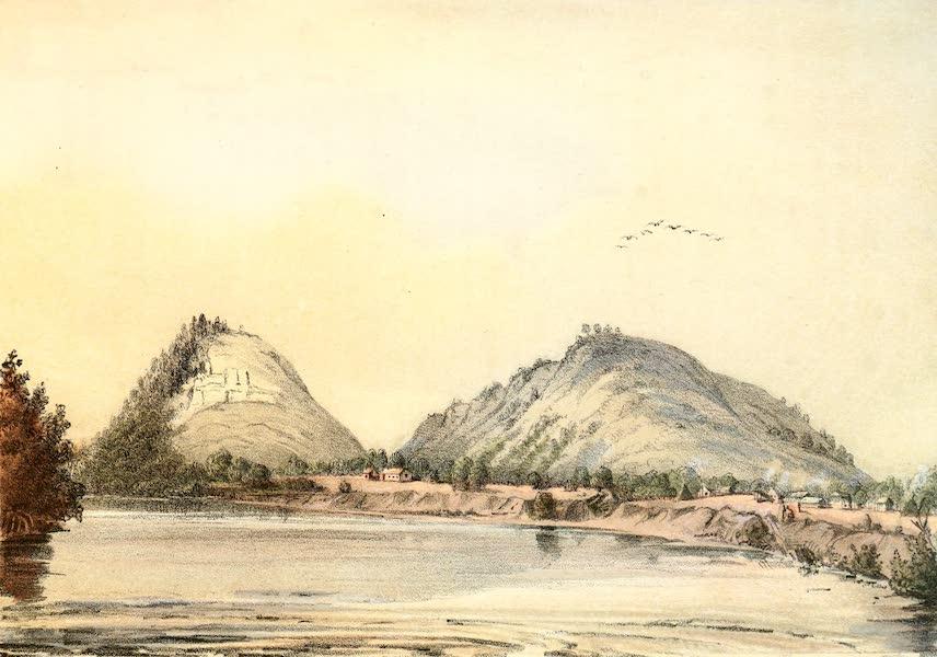 Das Illustrirte Mississippithal - Red Wings Village (1857)
