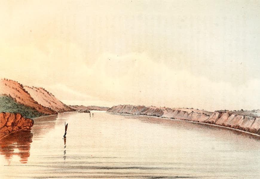 Das Illustrirte Mississippithal - Lake Pepin (1857)
