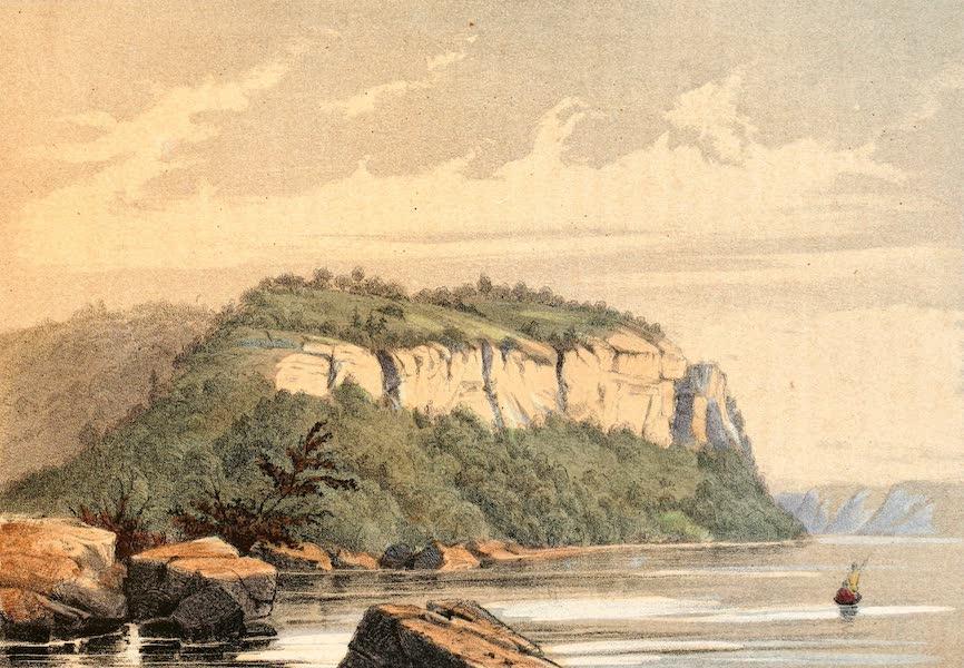 Das Illustrirte Mississippithal - The Maiden Rock (1857)