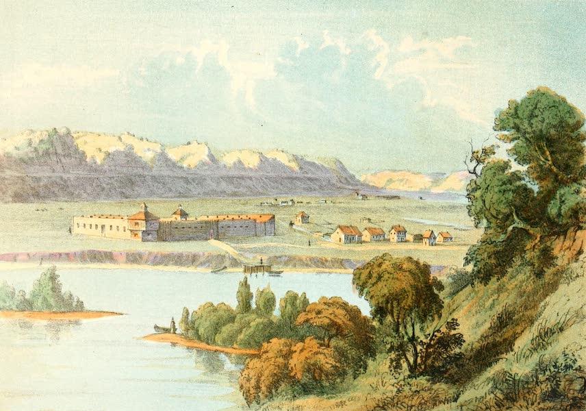 Das Illustrirte Mississippithal - Prairie du Chien, Wisconsin in 1830 (1857)