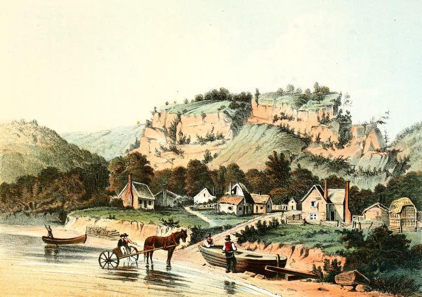 Das Illustrirte Mississippithal - Cassville in 1829 (1857)