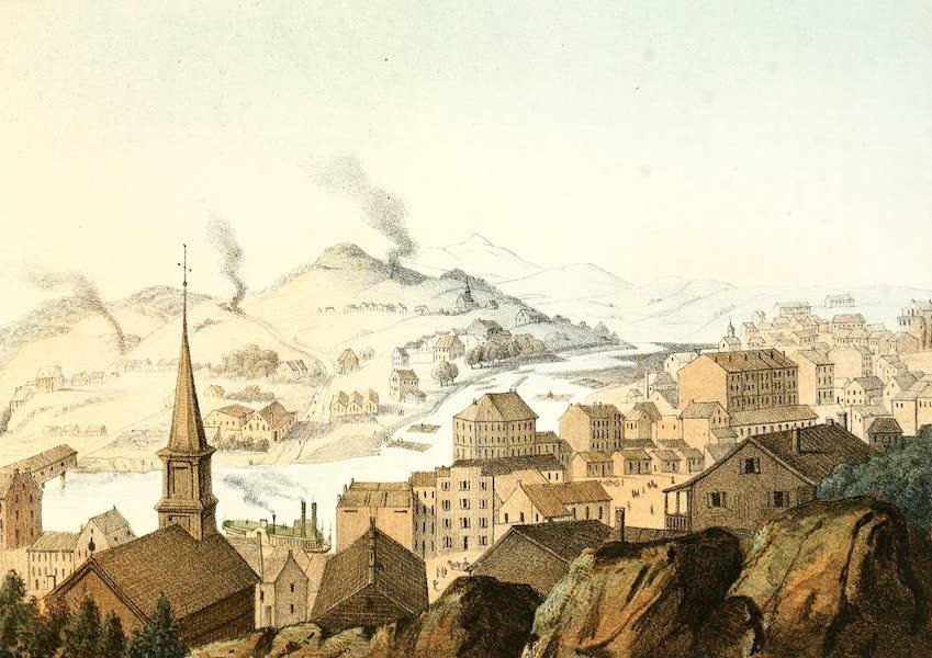Das Illustrirte Mississippithal - Galena on Fever River in Illinois (1857)