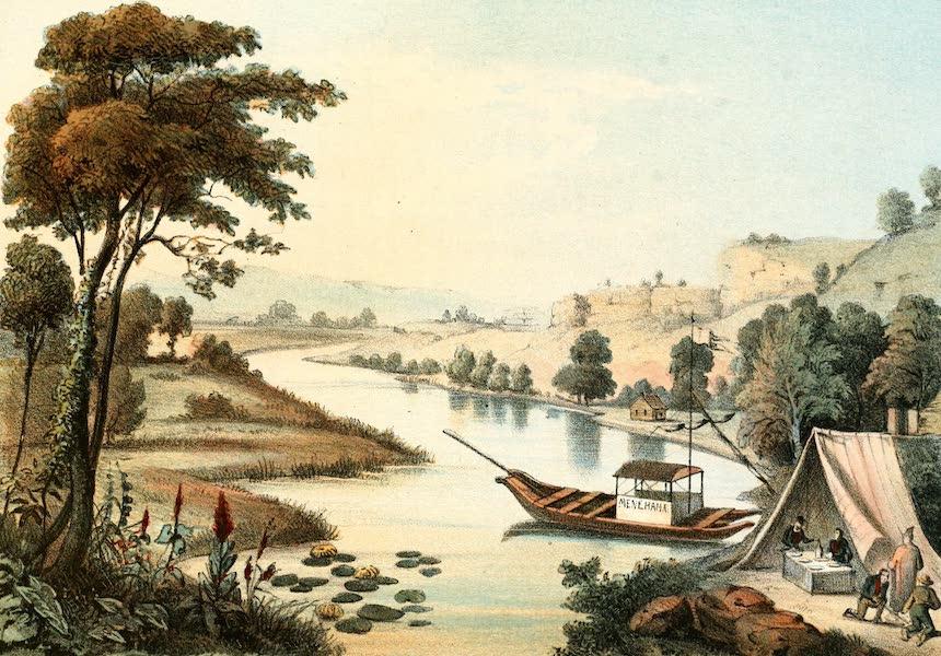 Das Illustrirte Mississippithal - View on Fever River (1857)