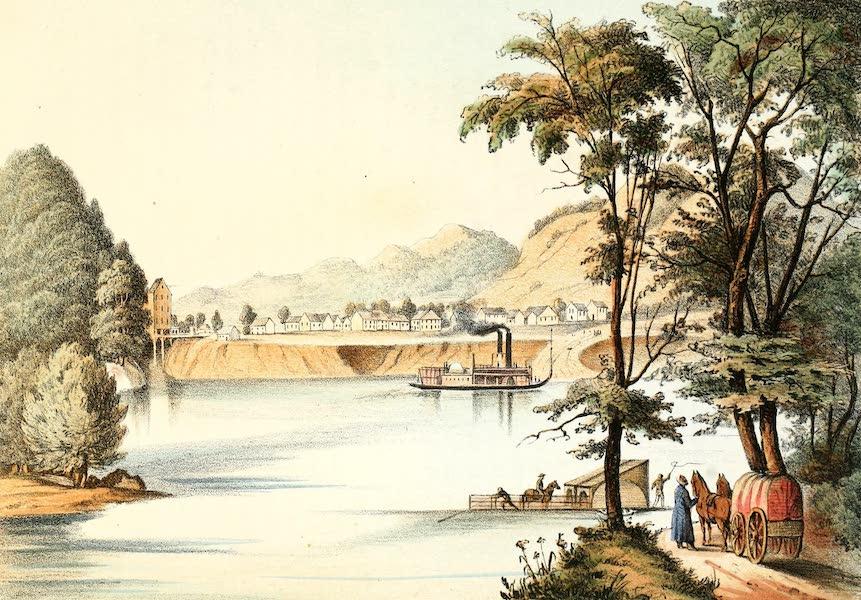 Das Illustrirte Mississippithal - Bellevue, Iowa (1857)