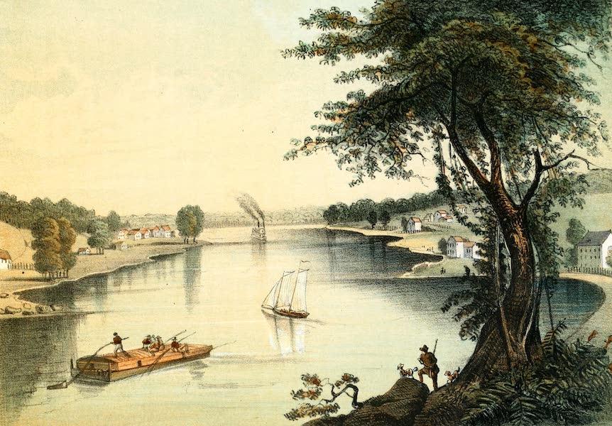 Das Illustrirte Mississippithal - Port Byron, Iowa and Berlin, Illinois (1857)