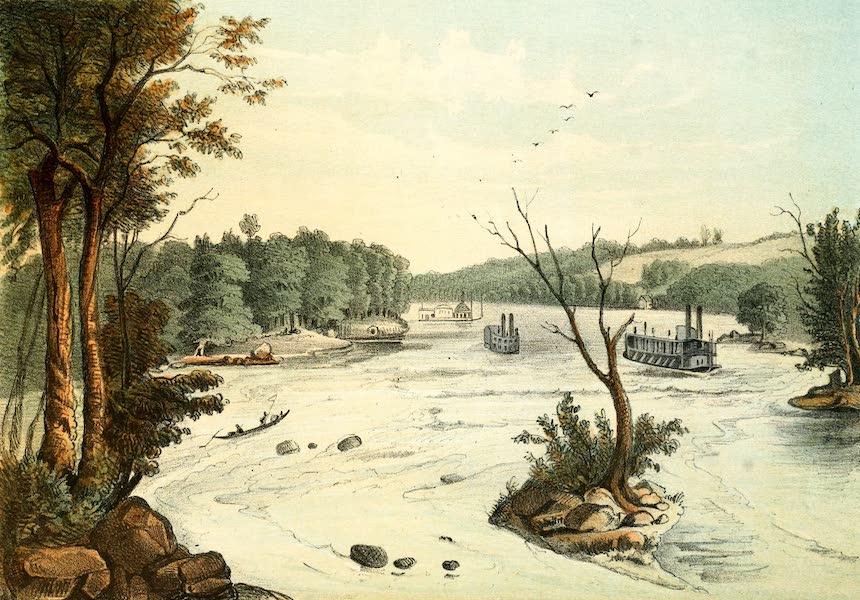 Das Illustrirte Mississippithal - The Rapids (1857)