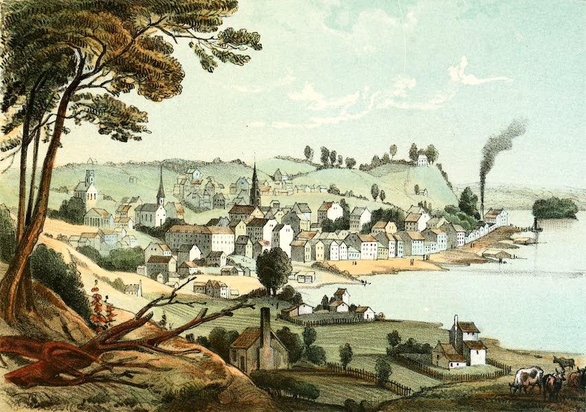 Das Illustrirte Mississippithal - Burlington, Iowa (1857)