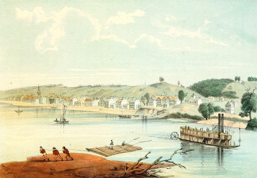 Das Illustrirte Mississippithal - Fort Madison, Iowa (1857)
