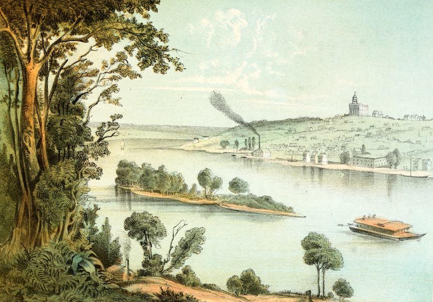 Das Illustrirte Mississippithal - Nauvoe, Illinois (1857)
